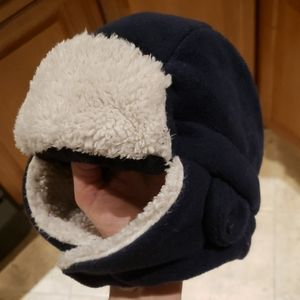Baby Gap S/M toddler sherpa trapper hat